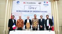 Pemerintah Indonesia dan Perancis Jalin Kerjasama Bentuk Sekolah Coding Gratis LAcadmie