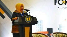 Sekretaris Jenderal Kementerian PUPR Anita Firmanti