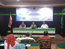 Kementerian Koperasi Gelar Bimtek Pengawsan Koperasi yang dilaksanakan di Gorontalo 19-20 September 2018 ini diikuti Satgas Pengawas Koperasi dan Satgas Pengawas Usaha Simpan Pinjam se Provinsi Gorontalo.