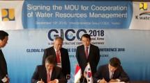 Kementerian PUPR dan K-Water Tandatangani MoU Kerjasama Manajemen Sumber Daya Air