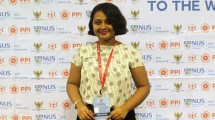 Casparina Theresia Renwarin berkesempatan berkarier di luar negeri setelah menimba ilmu di President University. (Dok. Jababeka Infrastruktur)