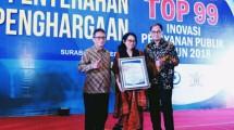 Layanan e-FLPP Kementerian PUPR Raih Penghargaan TOP 99 Inovasi Pelayanan Publik