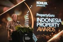 Menteri Perdagangan Enggartiasto Lukita saat memberikan sambutan dalam acara 'PropertyGuru Indonesia Property Awaeds' (Foto: Dok. Industry.co.id)