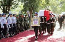 Ny. Roesmiati Soepandji Dimakamkan Secara Militer dan Dianugerahi Bintang Gerilya oleh Presiden RI