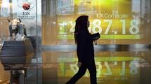 Bursa Efek Indonesia. (Adek Berry/AFP)