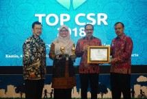 PT Pertamina Lubricants Raih Dua Penghargaan TOP CSR 2018 (Foto Dok Industry.co.id)