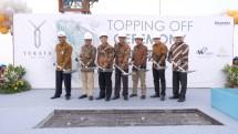 Triniti Land, salah satu pengembang properti terpercaya di Indonesia resmi melakukan prosesi penutupan atap (topping off) proyek kondominium Yukata Suites yang dilaksanakan pada hari Kamis, 11 Oktober 2018.