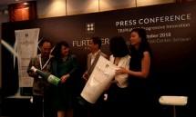Konferensi Pers Peuncuran Produk baru dengan Triphasic Prograssive dari RENE Furterer