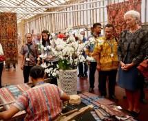 Christine Lagarde Terkesan dengan Paviliun Indonesia (Foto Humas BUMN)