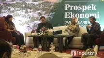 Talk show Prospek Ekonomi dan Peluang Bisnis (Hariyanto/ INDUSTRY.co.id)