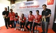 McDonalds Indonesia dan Air Mineral Prim-a Beri Apresiasi untuk Atlet Asian Para Games 2018 Cabang Olahraga Renang