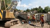 Pembangunan Duplikasi Jembatan Surabaya di Pulau Lombok