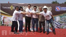 Ground breaking Taruma City (Hariyanto/INDUSTRY.co.id)