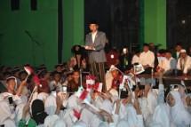 Presiden Jokowi hari santri ke IV yang di pusatkan di Kota Solo (Foto Okezone)