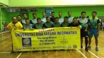 UBSI Kirim 20 Atlet di POM DKI Jakarta 2018
