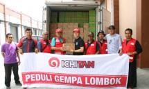 Penyerahan Bantuan dari Ichitan Indonesia kepada Korban Gempa Bumi Lombok