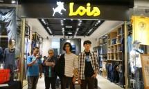 Reopening Showroom Lois Jeans di Mal Kota Kasablanka