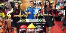 Produsen helm lokal, JPX Helmet merilis helm terbarunya di pameran Indonesia Motorcycle Show (2018), yang berlangsung di Jakarta Convention Center