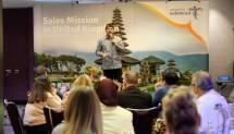 Menteri Pariwisata Arief Yahya mengatatakan Kementerian Pariwisata (Kemenpar) dipastikan ambil bagian di World Travel Market (WTM) London 2018, 5-7 November.