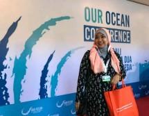 GM Marcomm Technoplast Dewi Hendrati saat menghadiri acara Our Ocean Conference (OCC) di Bali