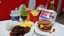 Menu Baru McDonalds dengan Citra Rasa Asia
