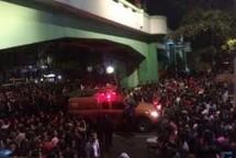Surabaya membara (Foto Jawapos)