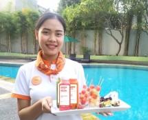 HARRIS Hotels Merayakan Hari Kesehatan Nasional 2018 Menyediakan Healthy Corner