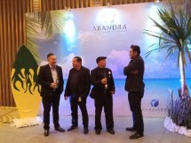 ki-ka: Joy D Lango selaku Senior GM Sales & Marketing, Asbudi selaku Head Of Creative Design & Digital Media, Peter Frengky selaku Sales Manager dan Andreas Okwiyanto selaku Head Marketing Of Event