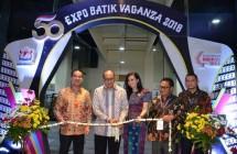 Ketua Umum Kadin Indonesia Rosa P. Roeslani saat membuka pameran BATIKVAGANZA (Foto: Kadin Indonesia)