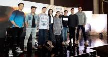 Ariel Noah, Judika, Rossa, dan Yovie Widianto bersama Roby Purba dan Boy William dan produser Rising Star Indonesia RCTI (foto : AMZ)