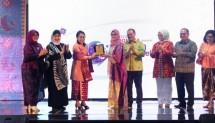 Acara Stunning of Bangka Belitung di gedung Smesco Indonesia, Jakarta, Sabtu (1/12/2018).