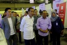 Digital Start Up Connect 2018 dibuka Presiden RI Joko Widodo dan dihadiri ribuan generasi muda millenial