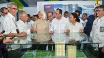Groundbreaking Pembangunan Rusun Terintegrasi dengan konsep Transit Oriented Development (TOD) di 3 Stasiun Kereta yaitu Stasiun Rawa Buntu,