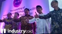 Menteri Airlangga resmikan Real CoId-Pressed Facility PT Sewu Segar Primatama (Hariyanto/INDUSTRY.co.id)