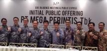 Jajaran Direksi dan Komisaris PT Mega Perintis Tbk usai acara Due Diligence Meeting 2018 di Jakarta (Foto: Abe)