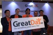 PT. Indodev Niaga Internet meresmikan GreatDay HR sebagai brand baru untuk solusi HR mobile SunFish Go.