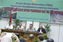 Kementan sosialisasi perkembangan pertanian