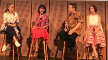 Lolita Malaiholo, Tika Bisono, Andrew Darmoko dan Clarice dalam Diskuis dan Rilis album di Galeri Indonesia Kaya.