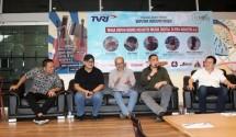 Agi Sugianto, Naratama, Rumy Azis, Seno M Hardjo, dan Rahayu Kartawiguna Dalam Sesi Diskuis yang Diselenggarakan oleh Forum Wartawan Hiburan (Forwan) Indonesia