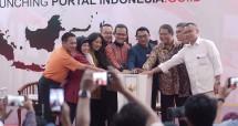 Ceremony Launching Indonesia.go.id - GPR TV bersama Kominfo dan Perwakilan Lembaga Negara lainnya