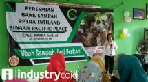 Pacific Place Care Kenalkan Program Bank Sampah (Hariyanto/INDUSTRY.co.id)