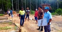 Iwan Nurdin dari Kantor Staf Presiden melalui Tim Percepatan Konflik Agraria (TPPKA) saat melakukan kunjungan ke Merauke