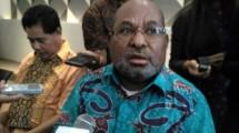 Gubernur Papua, Lukas Enembe, (Foto: Fadli/Industry.co.id)