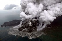 Gunung Anak Krakatau (Foto: Antara)