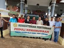 Kementan peduli korban Tsunami Banten dan Lampung