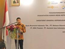Direktur Utama WOM Finance, Djaja Suryanto Sutandar (Foto Abe)