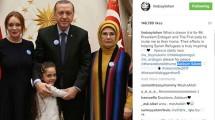 Unggahan Foto Lindsay Lohan bersama Presiden Erdogan