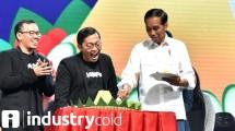 Perayaan ulangtahun Bukalapak di hadiri Presiden Jokowi