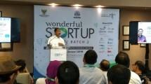 Menteri Pariwisata Arief Yahya saat membuka Wonderful Startup Academy 2 (Foto: Ridwan/Industry.co.id)