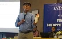 Ekonom Senior INDEF Faisal Basri (Foto: Ridwan/Industry.co.id)